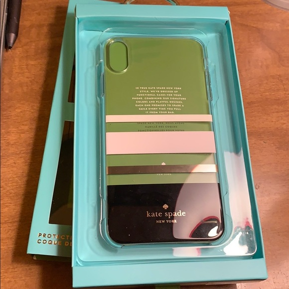 online retailer d4744 a8901 iPhone XS Max Kate spade case